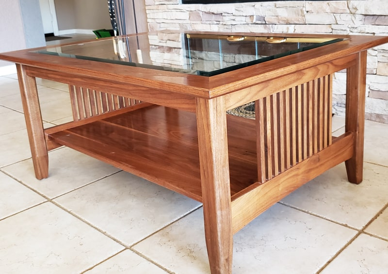 Arts and Crafts Coffee Table for Ramona Homeowner