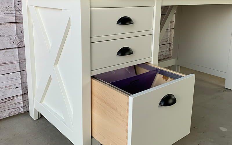 custom farmhouse desk ramona