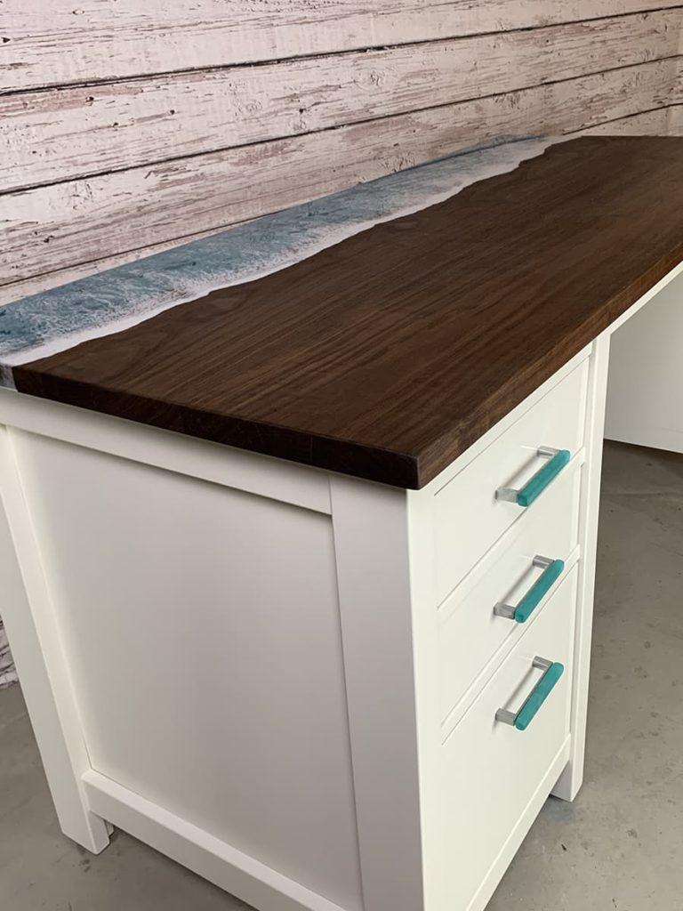 custom desk ramona