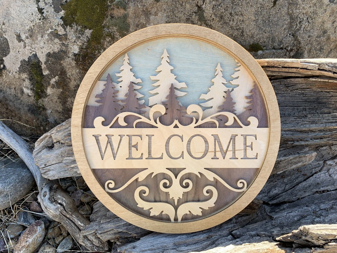 Made-to-Order Welcome Signs for Nature-Loving Homeowners