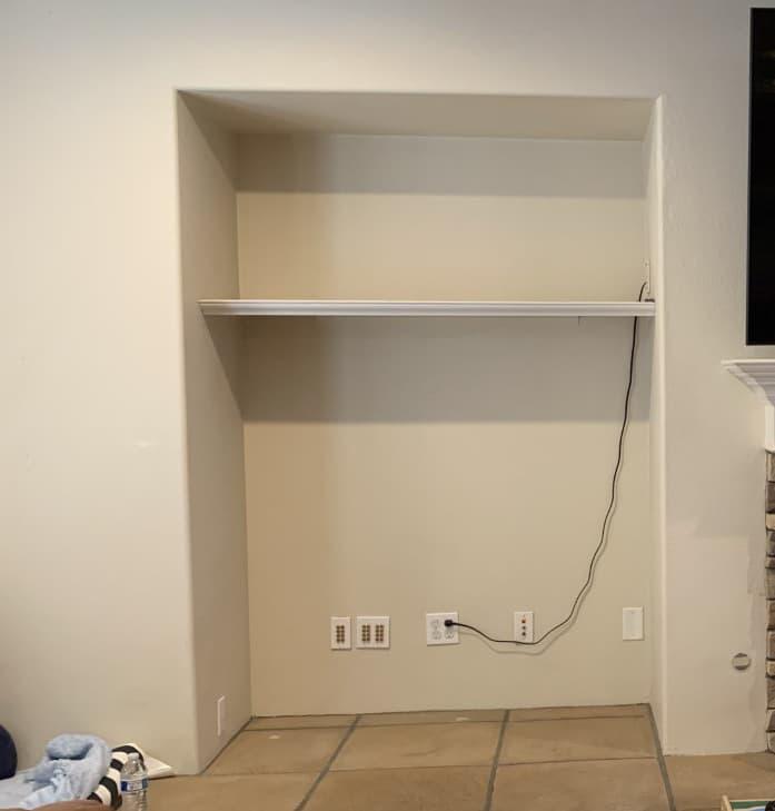 rancho bernardo custom built-in cabinets