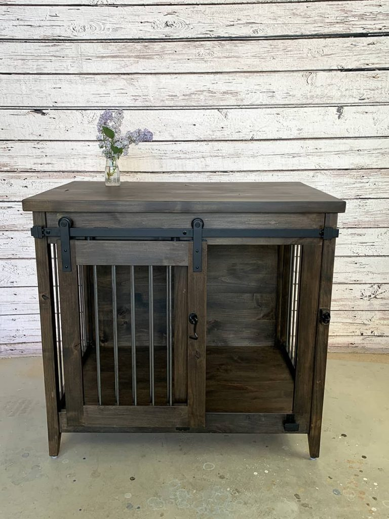 custom furniture dog kennel